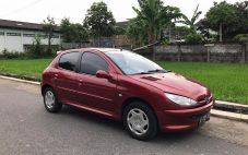 Peugeot 206 XR Sporty Th'2003 manual + Istimewa